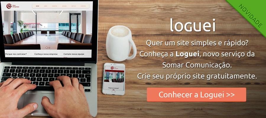 Conheça o serviço de criação de site da Loguei
